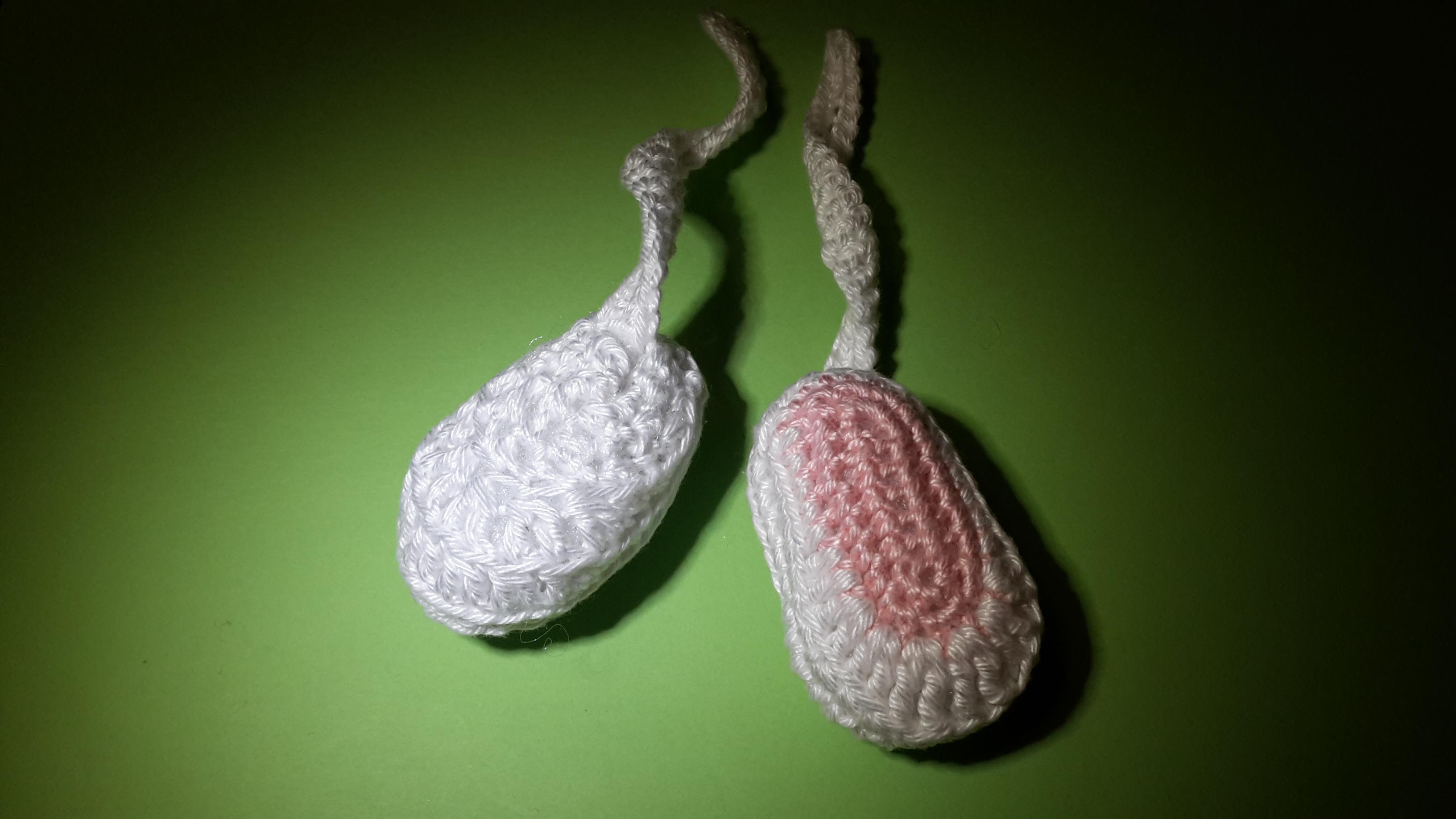 Horgolt Amigurumi Nyuszi : Horgolt húsvéti nyuszilány kreatív hobby alkotóműhely