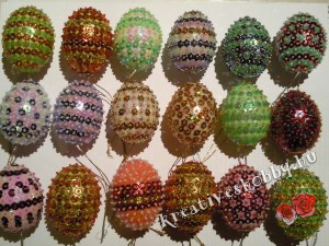 Gyöngyös hímes tojás