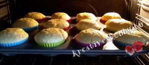 Gluténmentes muffin: pirosra sütjük