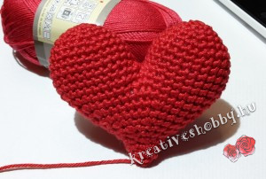 Amigurumi szív