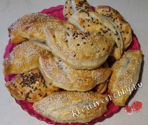 Arab húsos táska (Szamósza)