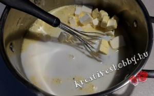 Mézes krémes: a tészta alapanyagai