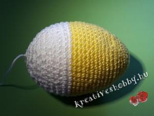 Horgolt tojáscsibe: a horgolt tojás