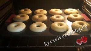 Diétás fánk: sütőben sütjük