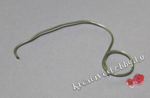 Headset-akasztó: a drótváz