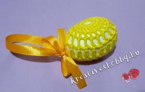 Horgolt tojástakaró