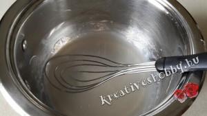 Horgolt tojás kikeményítése: a keményítő