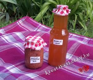 Kreatív befőzés: almalé és fahéjas almapüré