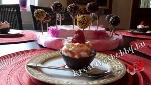Csokitálka házi fagyival