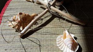 Kagylós szélcsengő: elkészítjük a tartóvázat
