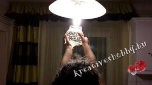 """Világító befőttesüveg: """"megtöltjük"""" fénnyel"""