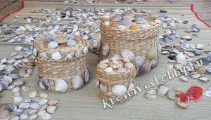 Kagylós kosárkák