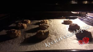 Gyömbéres keksz: megsütjük
