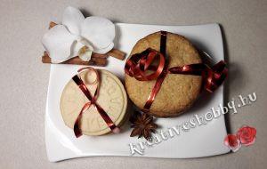 Gyömbéres és fahéjas keksz
