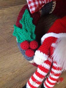 Karácsonyi gnómos kopogtató