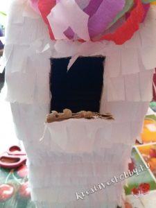 Unikornis-piñata: megtöltjük édességekkel